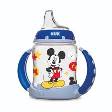 NUK® <b>Disney</b>® Mickey Mouse and <b>Minnie Mouse Learner Cup</b>, 5 oz ...