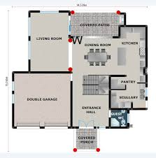 Free Small House Plans In South Africa   Home DecorHouse Plan Pl c Floorplan Ground