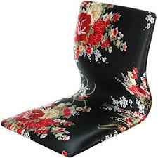 get quotations oriental furniture japanese style game chair tatami meditation backrest chair black and red hibiscus cheap oriental furniture