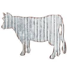 <b>Cow</b> Corrugated <b>Metal</b> Wall Decor   Hobby Lobby   1299791