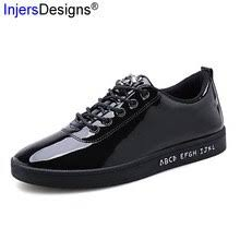 Buy patent leather sneaker and get free shipping on AliExpress.com