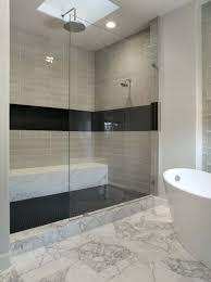bathroom shower tile design color combinations: bathroom gray color combinations mosaic tile and guest design