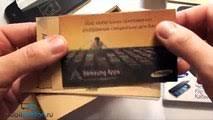 Распаковка <b>Samsung Galaxy S</b> 4 (unboxing) и использование Flip ...