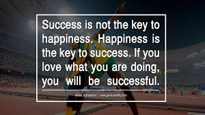 inspirational business quotes quotes from some of the most happiness is the key to success if you love what you are doing you will be successful albert schweitzer motivational quotes for small startup