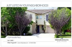 marketing your home mike sells san diego full color flyers