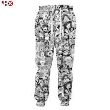HX New 2019 Ahegao Hentai Expression Sweatpants 3D <b>Print Men</b> ...