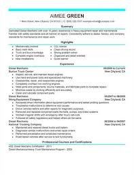 more auto mechanic lt a href quot cv tcdhalls com resume tem html  diesel mechanic resume example