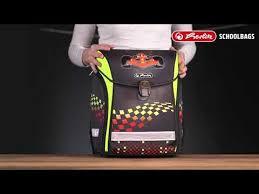 <b>Herlitz Ранец</b> школьный New <b>Midi Plus</b> Motorcross с наполнением ...