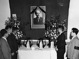 「1953年 - 日本共産党書記長・徳田球一が北京で客死」の画像検索結果