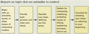 the norton field guide to writingone way of organizing a report