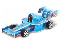 3d пазл pilotage гоночная машина blue rc38108