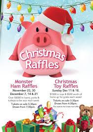 ham toy raffles poster gosford rsl ham toy raffles poster