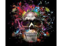 80+ <b>Skulls In Glasses</b> ideas   skull art, skull, skull and bones