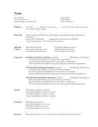 resume layout microsoft word resume format