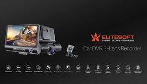 EliteSoft - NEW A10 ELITESOFT <b>CAR DVR 3</b>-Lens...