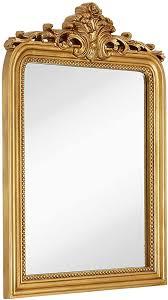 Hamilton Hills Top Gold Baroque Wall Mirror | Rich ... - Amazon.com