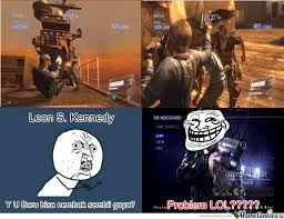 Resident Evil 6 by aryabeta - Meme Center via Relatably.com