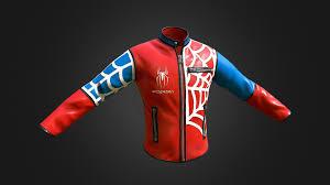 <b>Spider</b>-<b>Man Jacket</b> - <b>3D</b> model by JSArt (@JSArt) - Sketchfab