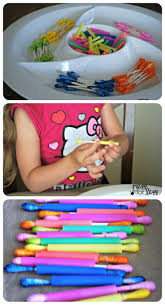 17 best images about fine motor skills activities q tips and straws fine motor skills activity a great way to help little