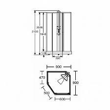 Ido Showerama 8-5 4985023995 — Передняя <b>стенка душевой</b> ...