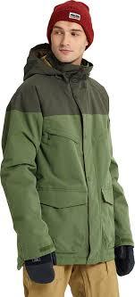 <b>Куртка мужская</b> Burton Breach <b>Jacket</b>, цвет: оливковый ...