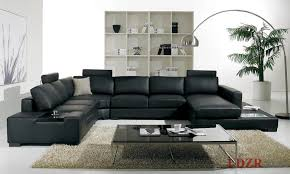 Of Living Rooms With Black Leather Furniture Astounding Modern Leather Living Room Furniture High Def Cragfont