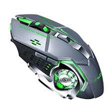 <b>T</b>-<b>WOLF Q13</b> Wireless <b>Mouse</b> Silent LED Gaming <b>Mice</b> 6 Keys RGB ...