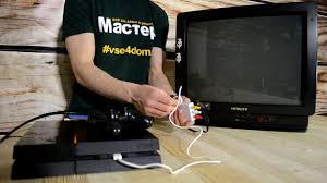 HDMI-<b>RCA</b>(AV) | Как подключить PS4 к телевизору через тюльпан