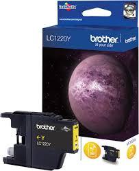 <b>Картридж Brother</b> LC1220Y, желтый, для струйного принтера