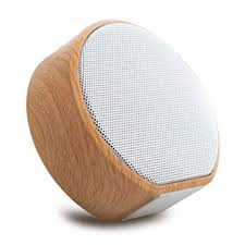 Leigo Bluetooth <b>Woodgrain</b> Portable Card Subwoofer Wireless ...