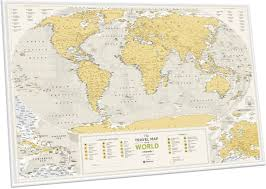 интерактивная <b>карта</b> мира travel map quot kids sights quot с ...