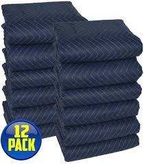 Amazon.com: Moving Blankets - Pro <b>Quality</b> - <b>Blue</b> & <b>Black</b>