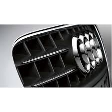 Комплект молдингов на <b>решетку радиатора</b>, хром, для Audi A4