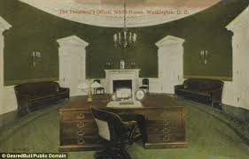 desk in oval office. seven potus have used the theodore roosevelt desk pictured which was built for in oval office