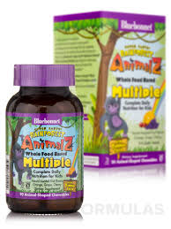Super Earth® <b>Rainforest Animalz</b>® <b>Whole</b> Food Based Multiple for ...
