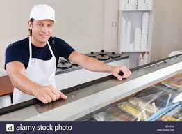 s clerk in an ice cream parlor stock photo royalty image s clerk in an ice cream parlor