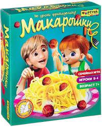 <b>Фортуна Настольная игра</b> Макарошки — купить в интернет ...