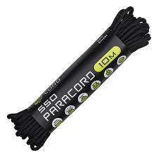 <b>Паракорд 550</b> CORD nylon 10м (<b>black</b>) - Мужской Магазин