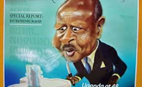 Image result for President Museveni CARTOON