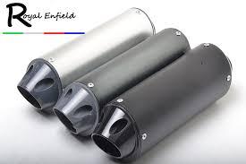 28mm 38mm Black Silver <b>Universal Motocross Motorcycle Exhaust</b> ...