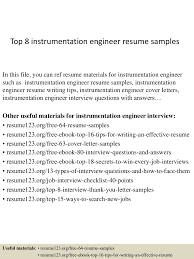 top8instrumentationengineerresumesamples 150407031441 conversion gate01 thumbnail 4 jpg cb 1428394524