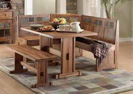 Kitchen Table With Benches Set Fancy Ideas Bench Dining Table Set All Dining Room