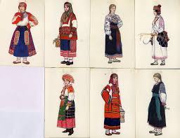 traditional russian clothing traditional clothing of the world traditional russian clothing