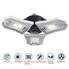 <b>ZDM</b> LED Garage Lights Deformable Tri <b>Bright</b> Led Light 60W ...