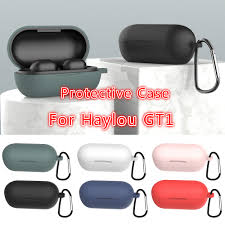 Fashion Color Wireless Bluetooth Case Cover For <b>Haylou</b> GT1 Soft ...