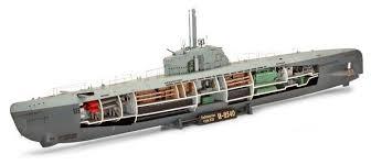 <b>Сборная модель Revell</b> Deutsches U-Boot Typ XXI mit Interieur ...