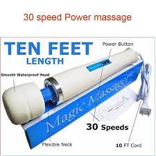 <b>Powerful</b> Speed <b>Magic</b> Wand Personal <b>Massage</b> Love <b>Body</b> ...