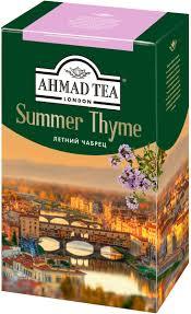 <b>Ahmad Tea Summer</b> Thyme, 100 г — купить в интернет-магазине ...