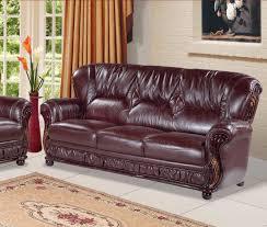 modern burgundy leather sofa burgundy furniture decorating ideas