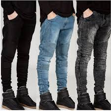 <b>Streetwear Mens</b> Ripped Biker <b>Jeans</b> homme <b>Men's</b> fashion ...